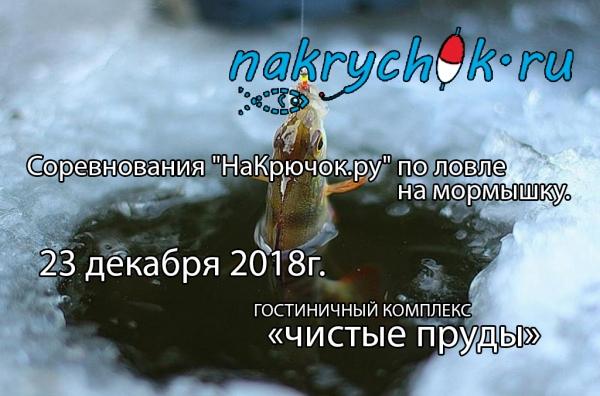 """Соревнования """"НаКрючок.ру"""" по ловле на мормышку"""